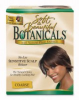 Soft&Beautiful Botanicals No-Lye Sensitive Scalp Relaxer Coarse