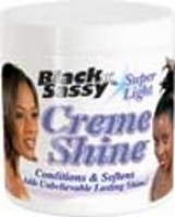 Black n' Sassy Super Light Creme Shine Conditioner